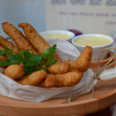 Chicken goujon fingers